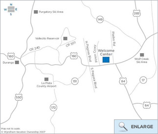Wyndham Vacation Resorts - Welcome Center Maps & Travel Directions ...